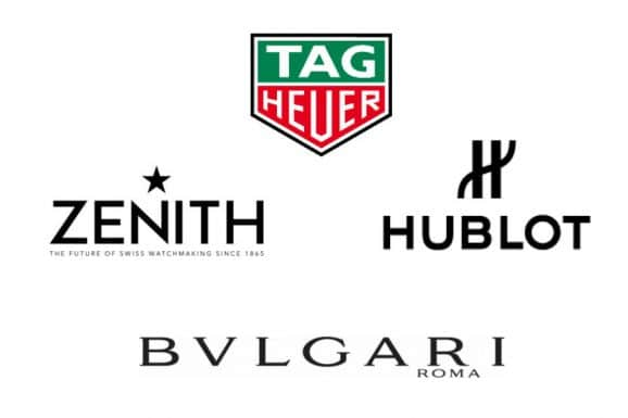 Logos LVMH-Marken