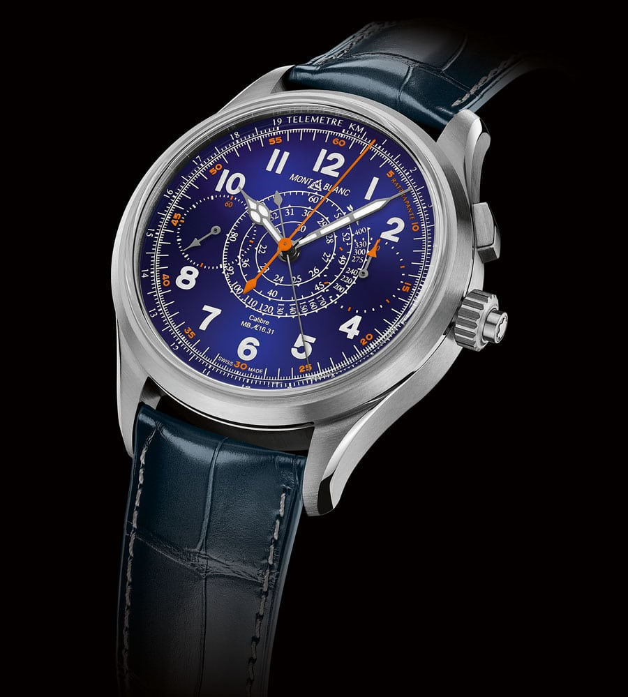 Montblanc: 1858 Split-Second Chronograph Limited Edition 100