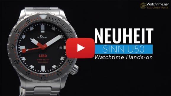 Wir stellen die neue Taucheruhr U50 von Sinn im Video vor