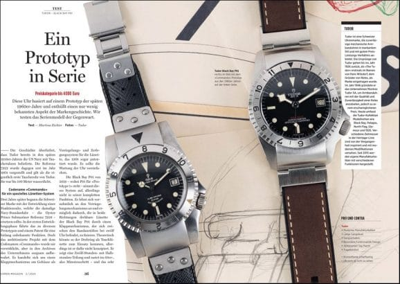 Test im UHREN-MAGAZIN: Tudor Black Bay P01