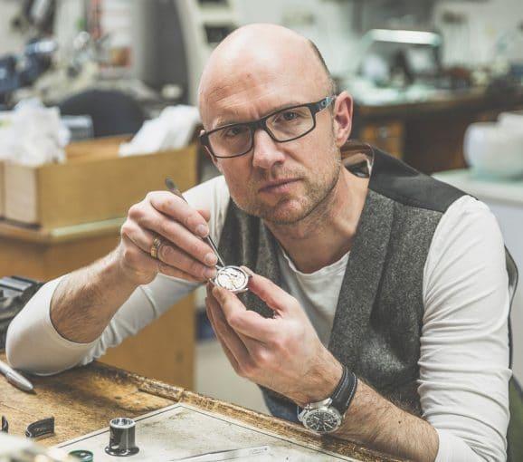 Ulrich Kriescher, Uhrmachermeister