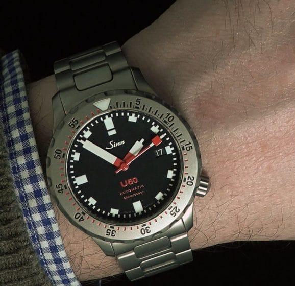 Wristshot: Sinn Spezialuhren U50