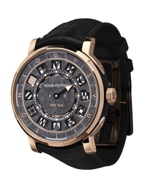 Louis Vuitton: Escale Spin Time Meteorite