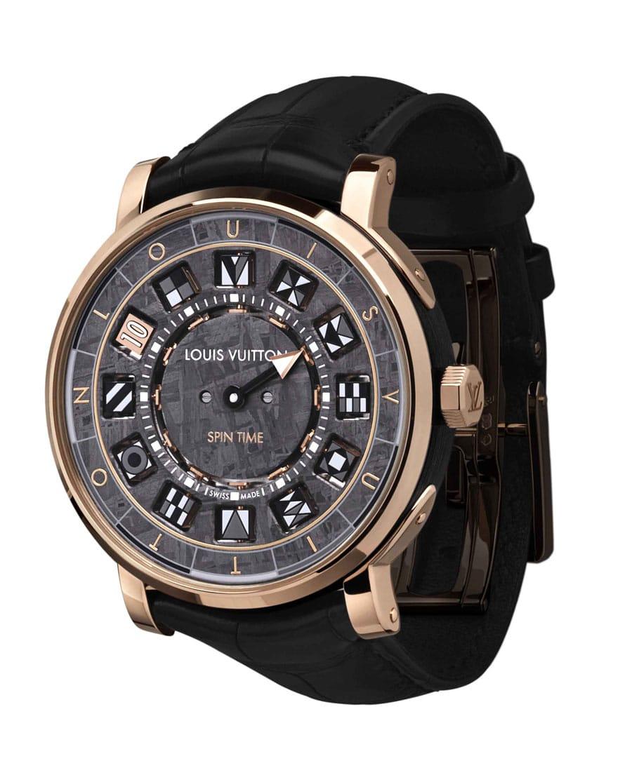 Louis Vuitton: Escale Spin Time Meteorite