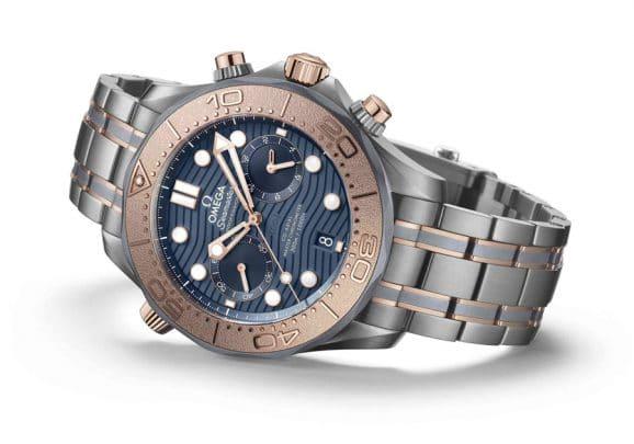 Omega Seamaster Diver Chronograph Tantalum