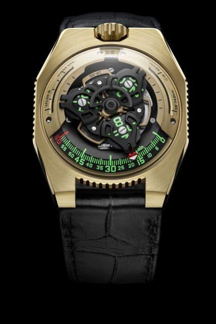 Urwerk UR-100 Gold