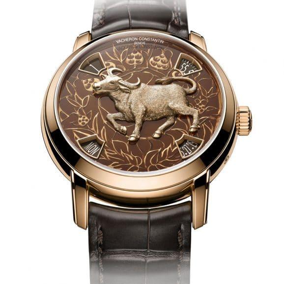 Vacheron Constantin: Métiers d'art - Die Legende des chinesischen Tierkreises - Das Jahr des Büffels