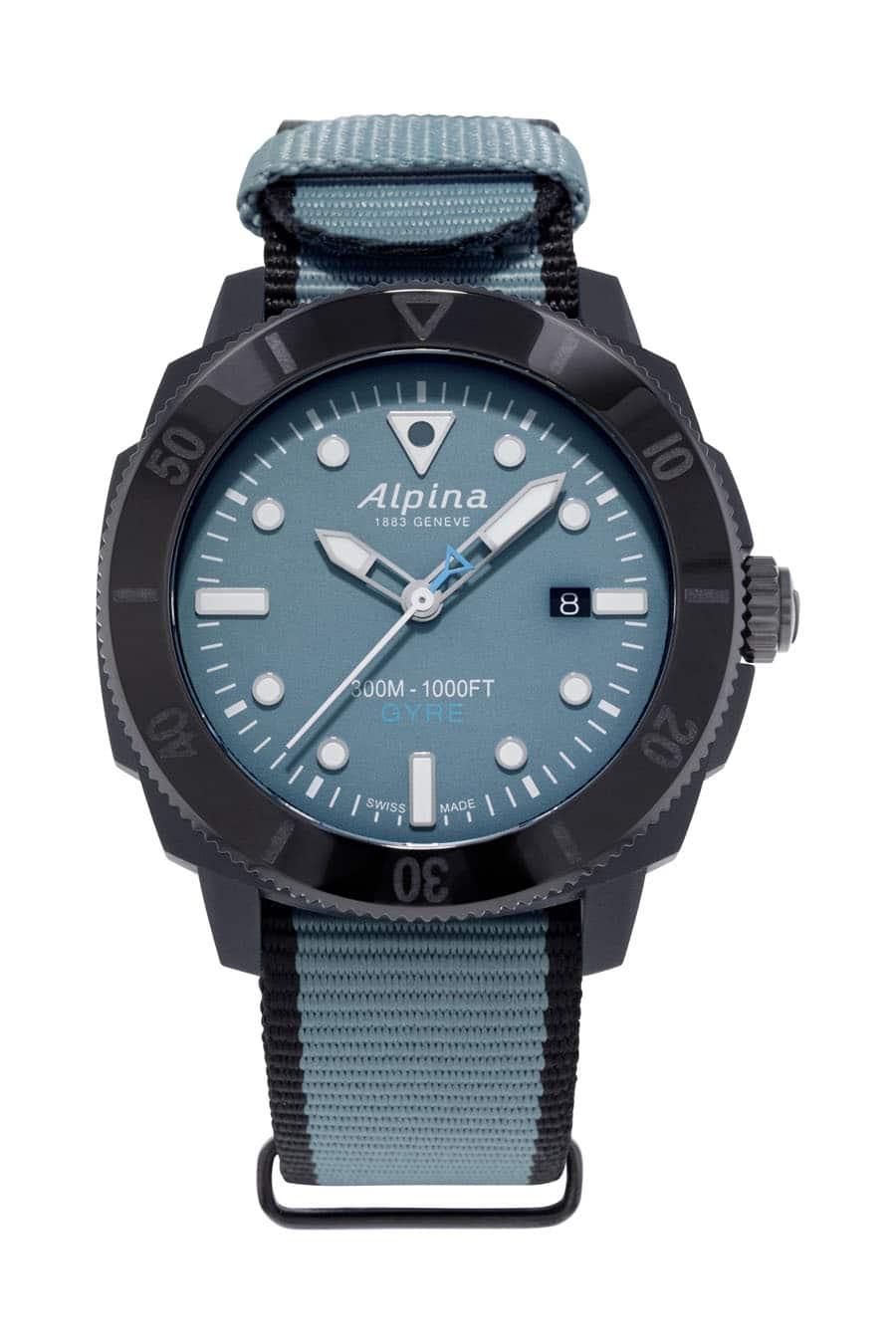 Alpina: Seastrong Diver Gyre Automatic mit türkisem Zifferblatt