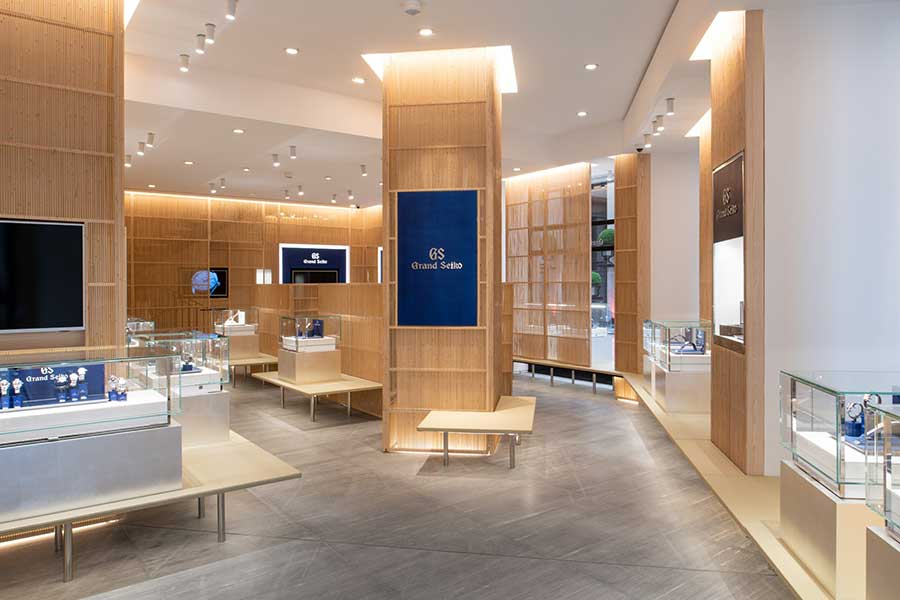 Grand Seiko Boutique Paris Vendôme