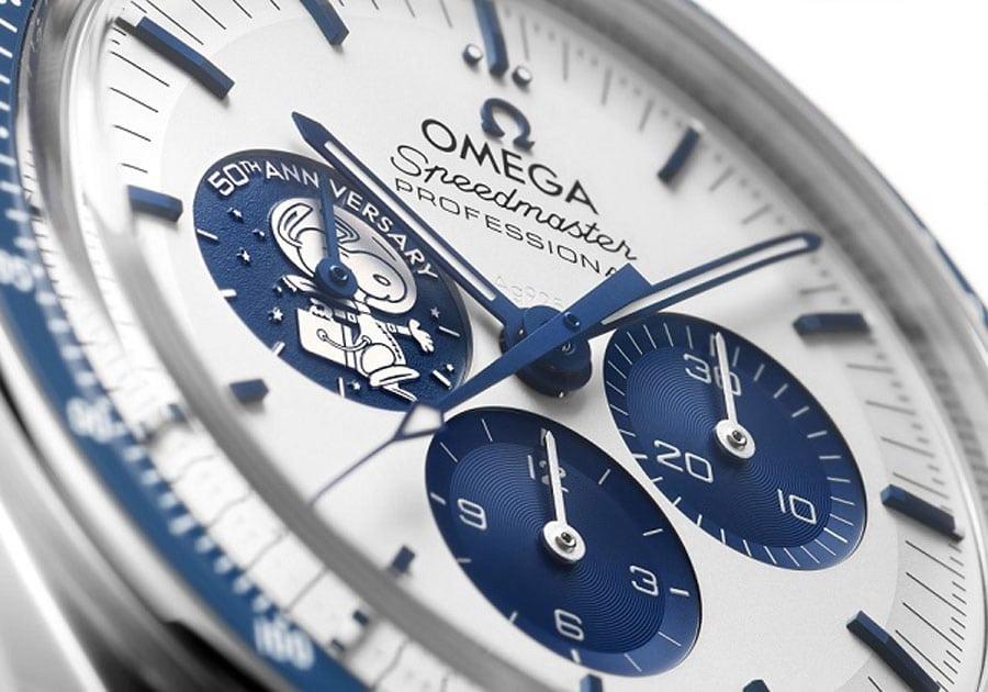 "Omega: Speedmaster ""Silver Snoopy Award"" 50th Anniversary"