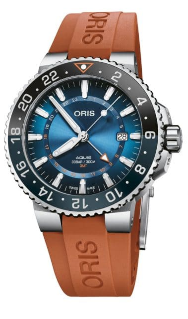 Oris: Aquis GMT Carysfort Reef Limited Edition