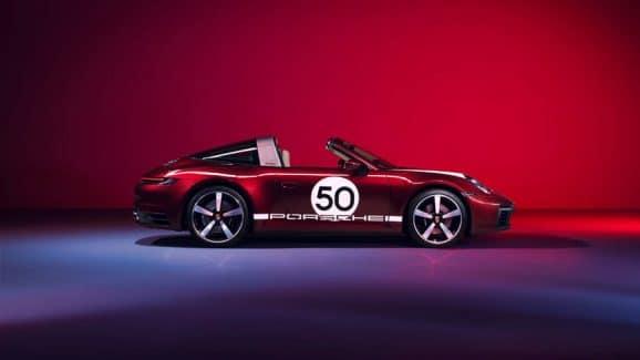 Der neue Porsche 911 Targa 4S Heritage Design Edition ist auf 992 Exemplare limitiert