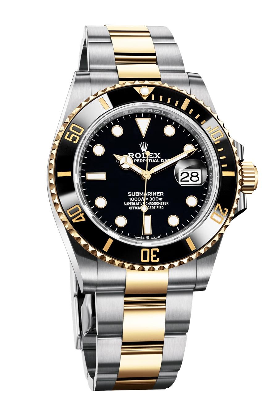 Rolex: Oyster Perpetual Submariner Date in Oystersteel und Gelbgold, Referenz 126613LN