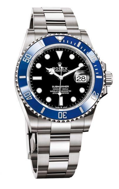 Rolex: Oyster Perpetual Submariner Date, Weißgold, schwarzes Zifferblatt, Referenz 126619LB