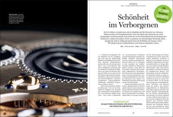 Serie: 175 Jahre Uhrmacherei in Glashütte