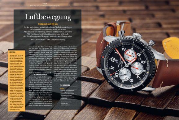 UHREN-MAGAZIN-Test: Breitling Aviator 8
