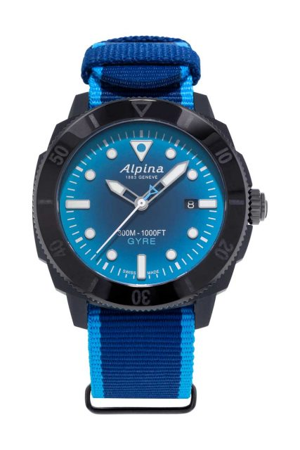 Alpina Seastrong Diver Gyre Automatic Gents Taucheruhrenspecial 2020