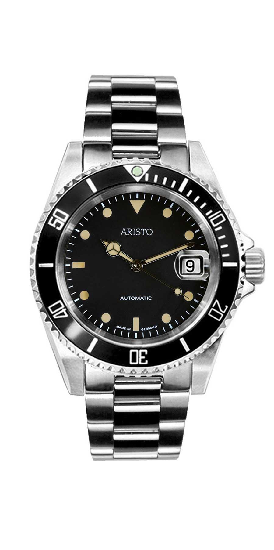 Aristo Taucher Vintage 4H185GB Taucheruhrenspecial 2020