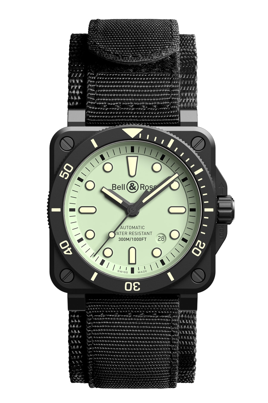 Bell & Ross 92 Diver Ceramic Full Lum Scratch Face Taucheruhrenspecial 2020