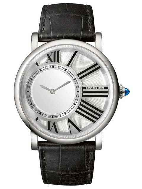 Cartier Rotonde mysterious hours