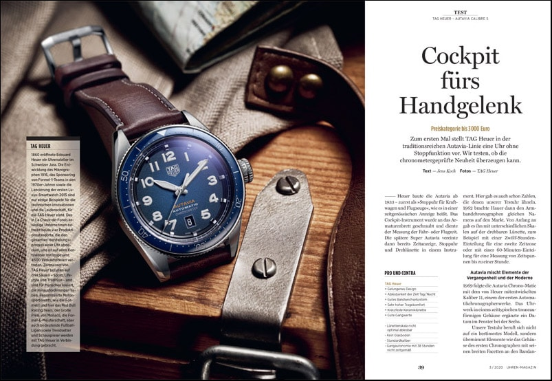 Produkt: Download: TAG Heuer Autavia Calibre 5 im Test