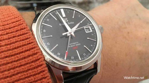 Grand Seiko High-Beat GMT Wristshot
