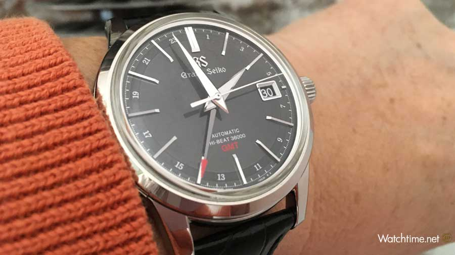 Grand Seiko High-Beat GMT Wristshot