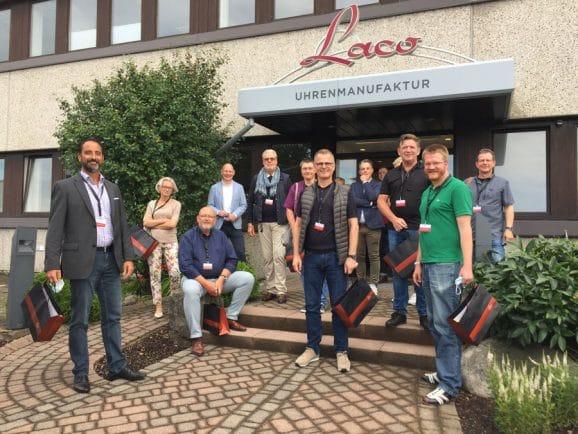 Gelungener Abschluss der Watchtime.net-Leserreise Schwarzwald: Besuch bei Laco in Pforzheim