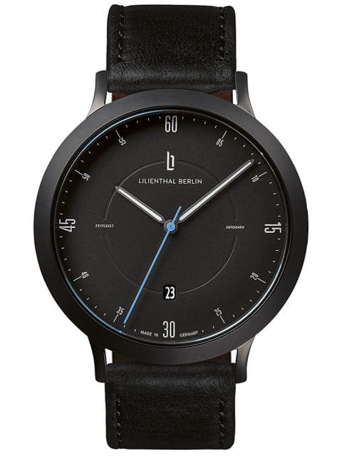 Lilienthal Berlin: Zeitgeist Automatik All Black