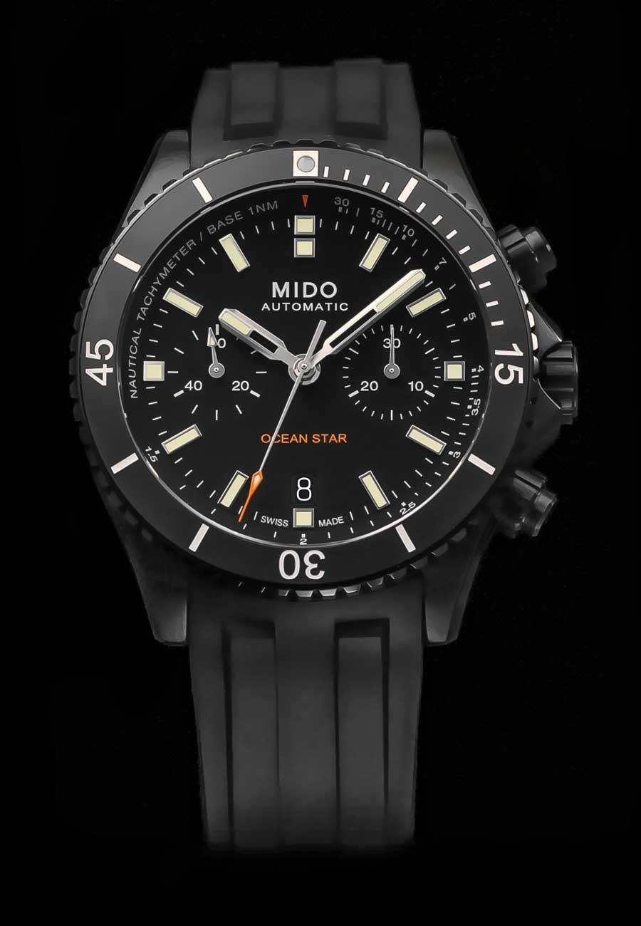 Mido Ocean Star Chronograph Taucheruhenspecial  2020