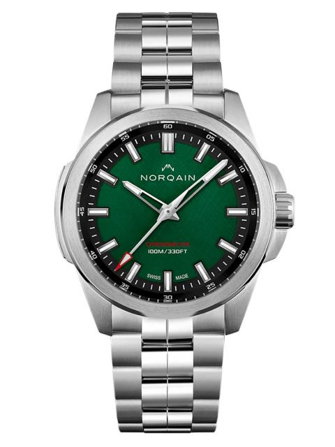Norqain: Independence 20 Scratched Green Dial