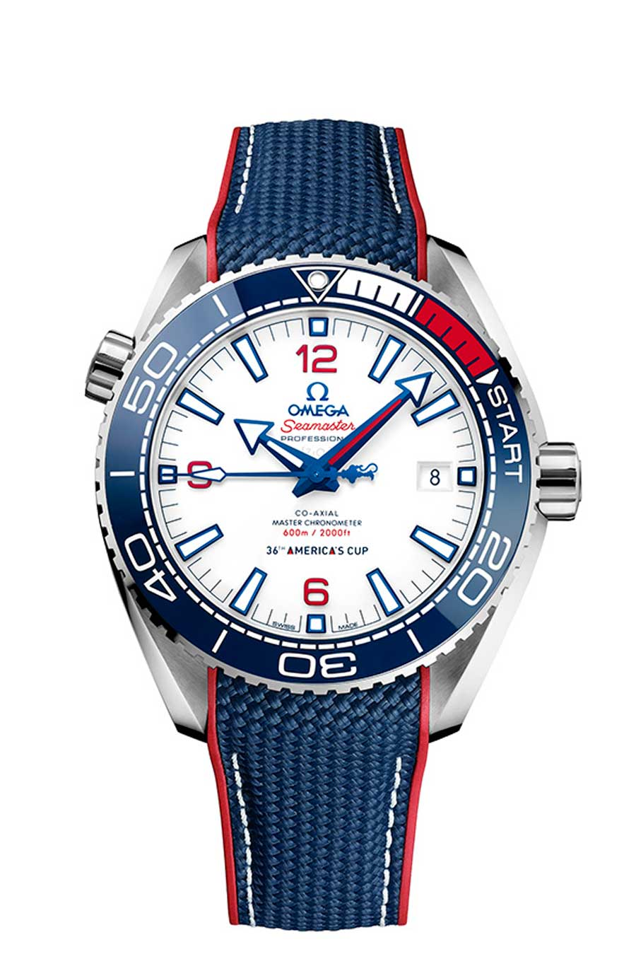 Omega Seamaster Planet Ocean 36th America's Cup Limited Edition Taucheruhrenspecial 2020