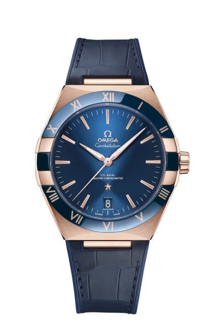 Omega: Constellation Gents 41mm Sedna-Gold