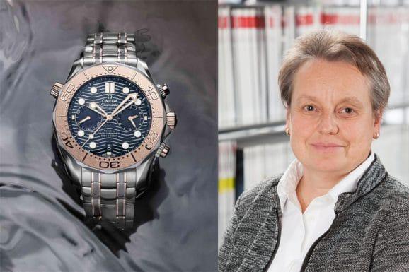 Sportuhrentipp von Martina Richter, stellvertretende Chefredakteurin UHREN-MAGAZIN: Omega Seamaster Diver 300M Chronograph
