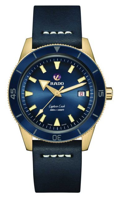 Rado Captain Cook Automatic Bronze Taucheruhrenspecial 2020