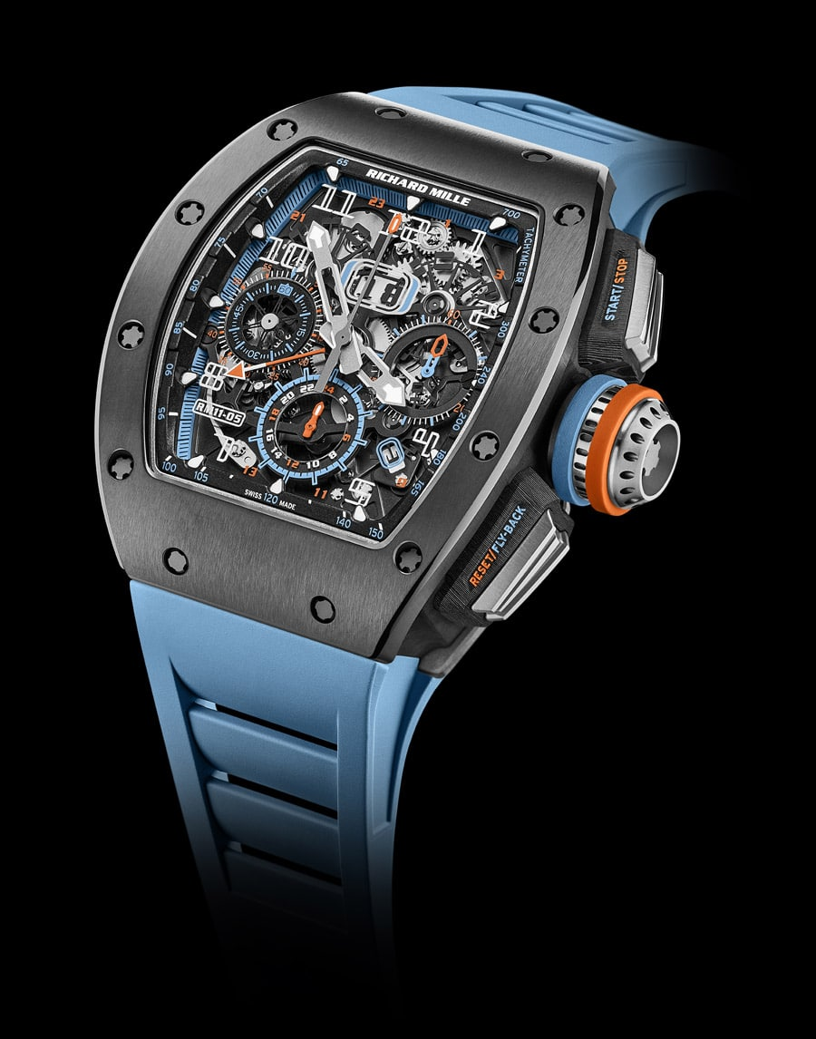 Richard Mille: RM 11-05 Automatic Flyback Chronograph GMT