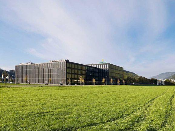 Rolex Produktionsstandort Biel