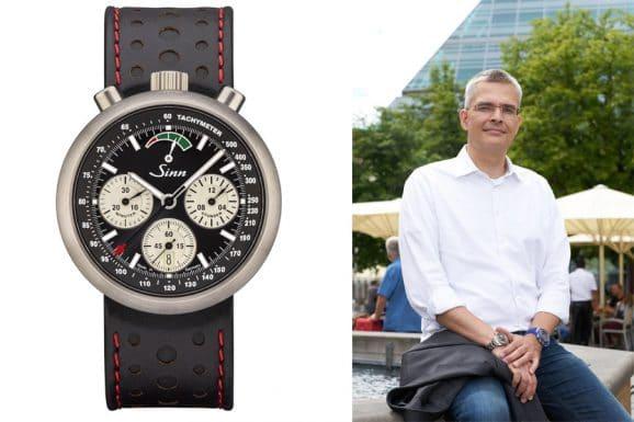 Rüdiger Bucher, Chefredakteur Chronos, empfiehlt die R500 von Sinn Speziahluhren