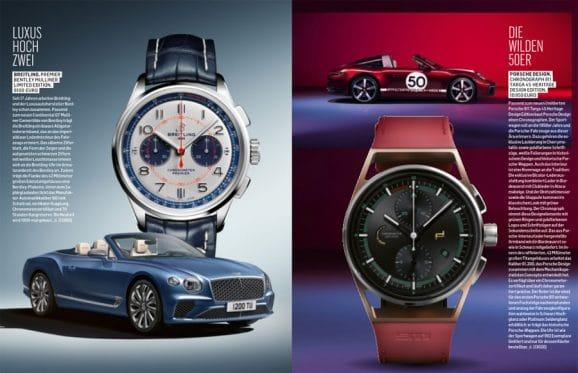 Chronos Sportuhren-Katalog 2020/21: die neuen Motorsportuhren