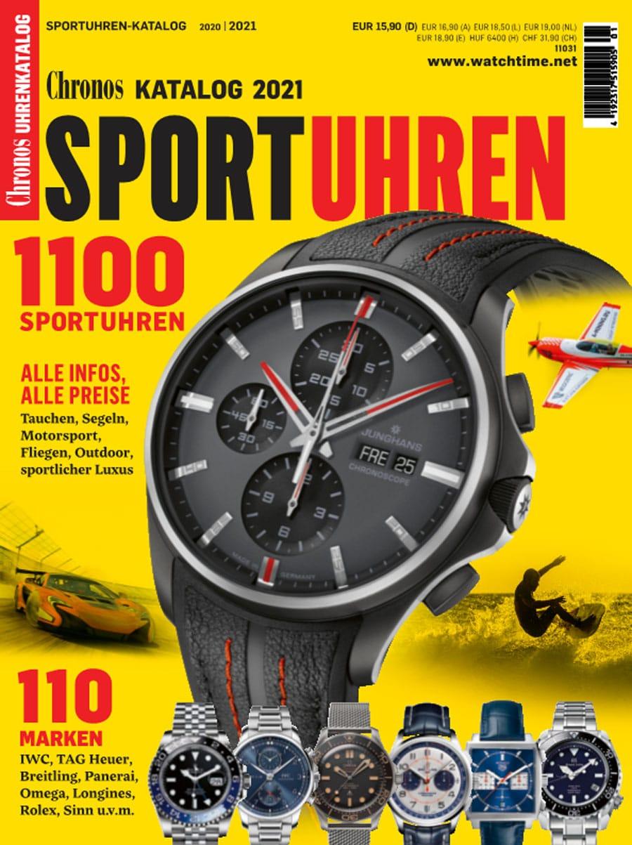 Produkt: Chronos Sportuhren-Katalog 2020/2021