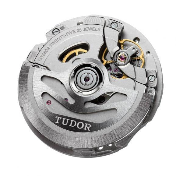 Tudor: Manufakturkaliber MT5602 mit Automatikaufzug ohne Datum