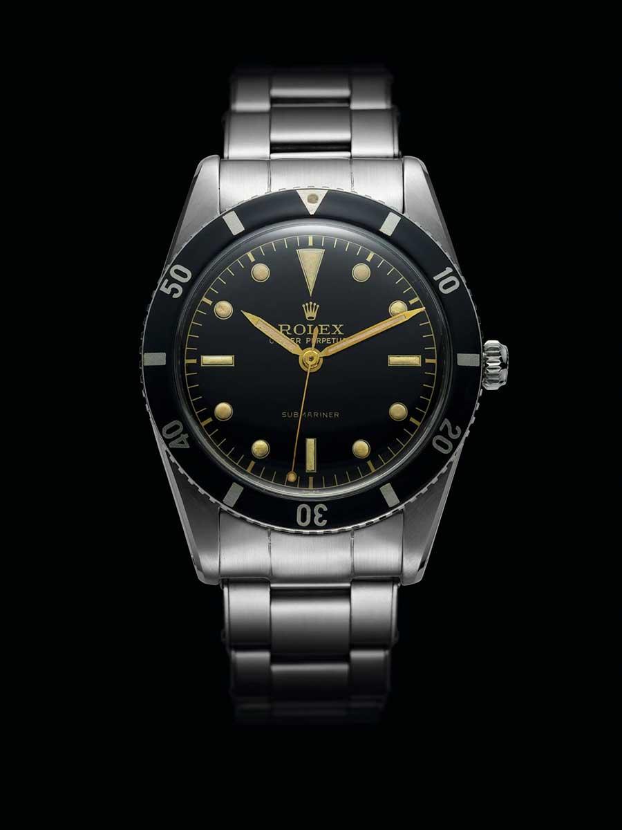 Rolex first Submariner 1953