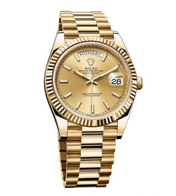Rolex: Day-Date 40 in Gelbgold
