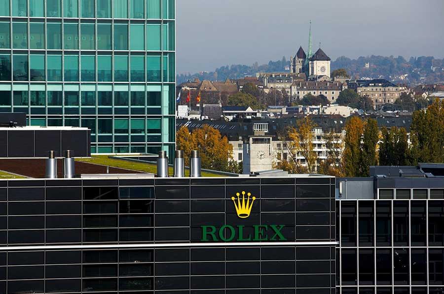 Rolex in Genf