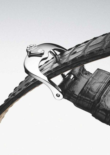 Rolex: Lederband mit neuer Crownclasp-Faltschließ
