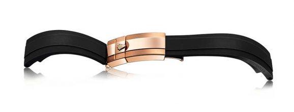 Rolex: Oysterflex-Band mit Oysterlock-Sicherheitsfaltschließe