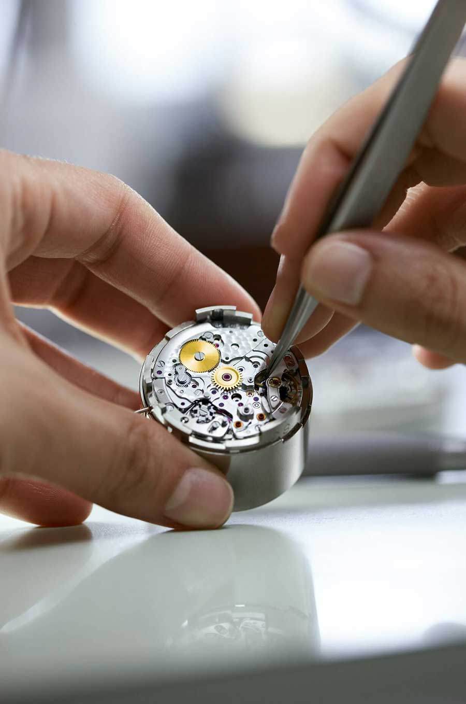 Rolex Wartung Uhrwerke