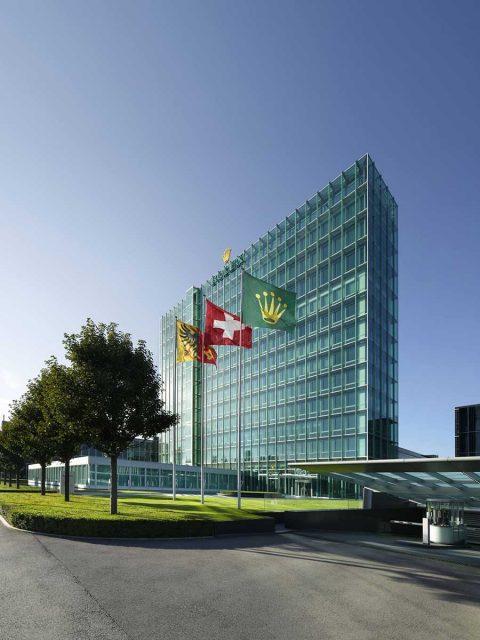 Rolex Hauptsitz in Genf