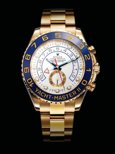 Rolex Yacht-Master 2 in Weißgold, mit Platin-Lünette