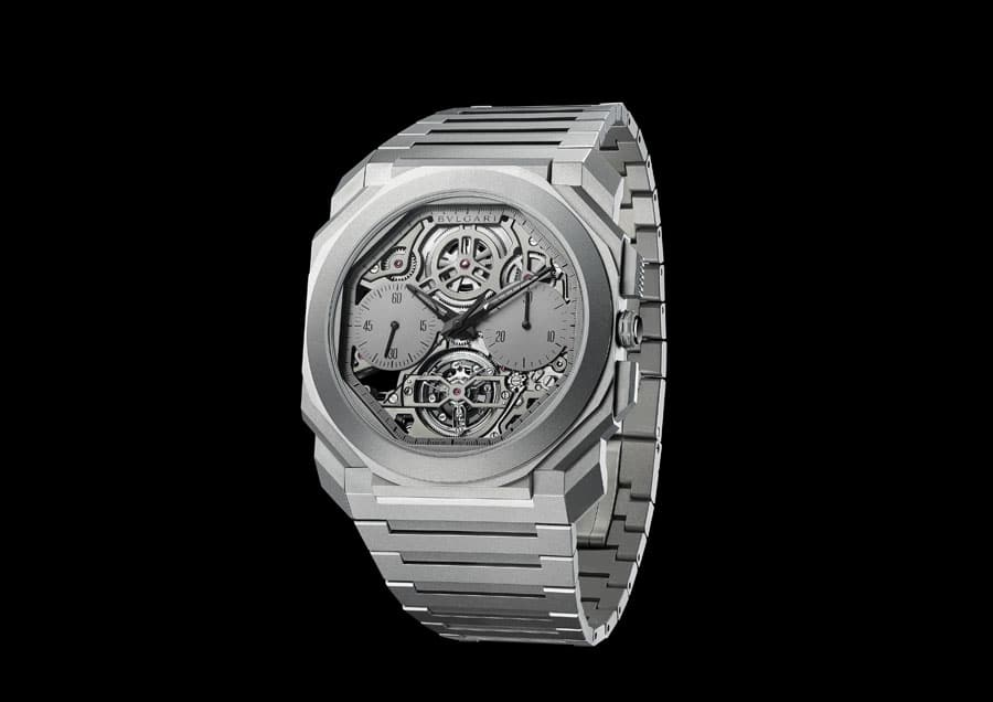 Bulgari: Octo Finissimo Tourbillon Chronograph Skeleton Automatic